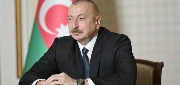 Azerbaycan Cumhurbaşkanından Açıklama