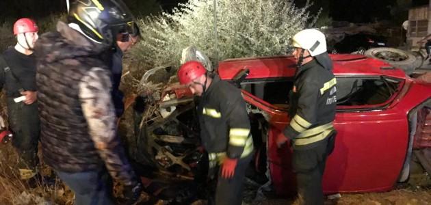Konya'da İki Otomobil Çarpıştı: 9 Yaralı