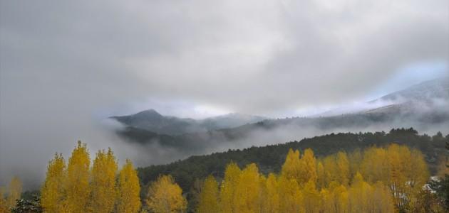 Yüksek Kesimlere Yağan Kar Güzel Görüntüler Oluşturdu