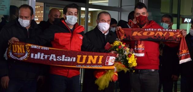 Galatasaray Kafilesi Konya'ya Geldi