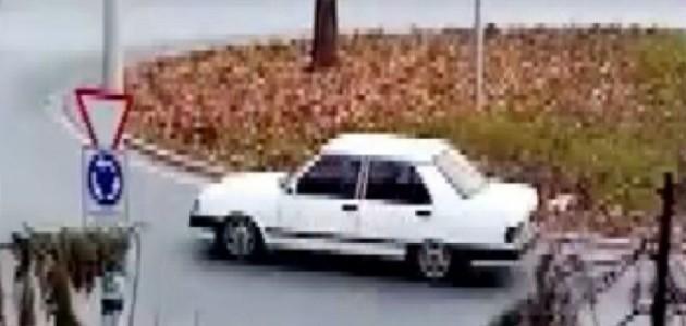 Konya'da Drift Yapan Sürücüye 9 Bin 398 Lira Ceza