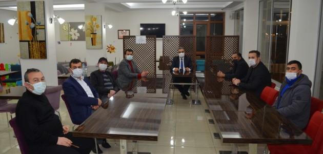Ilgın Belediye Başkan Ertaş, Gazetecilerle Bir Araya Geldi