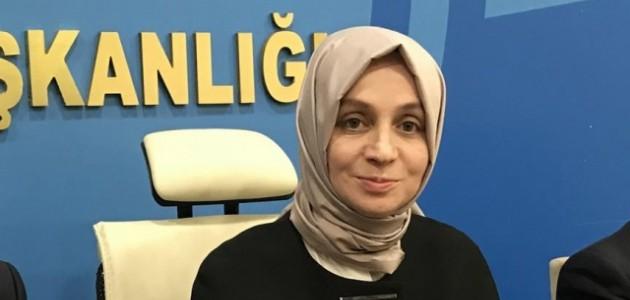 AK Parti Genel Başkan Yardımcısı Leyla Şahin Usta'dan Aşı Tavsiyesi