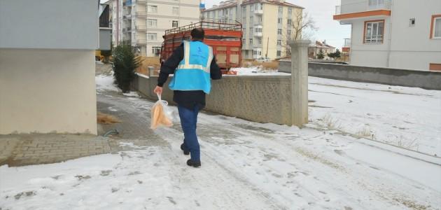 Akşehir'de Kovid-19 Hastalarına Sıcak Yemek Desteği