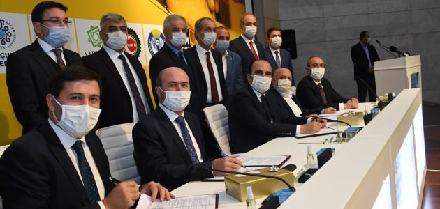 Konya'da Belediye İşçilerinin Toplu İş Sözleşmesi İmzalandı