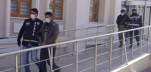Konya'daki Pazarcı Kavgasında 6 Zanlı Adliyede