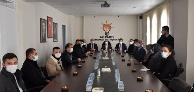 AK Parti Konya Milletvekili Ahmet Sorgun'dan, Karapınar'a Ziyaret
