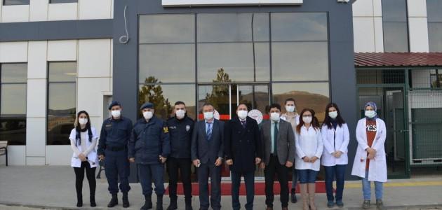 Hüyük Kaymakamı Cüneyt Demirkol'dan Hastane Ziyareti