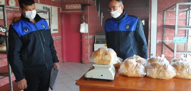 Akşehir'de Zabıta Ekiplerinin Fırın Denetimleri Sürüyor