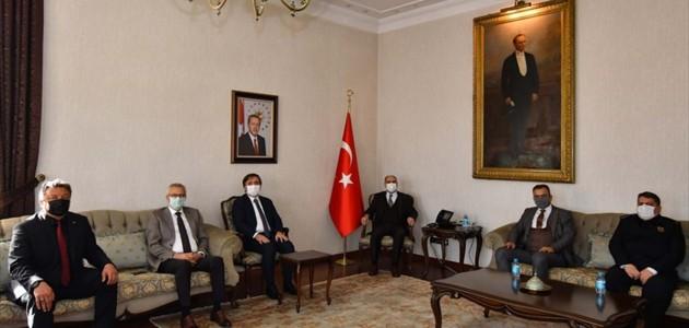 Konya Valisi Özkan, Aksaray Valisi ile Heyetini Misafir Etti