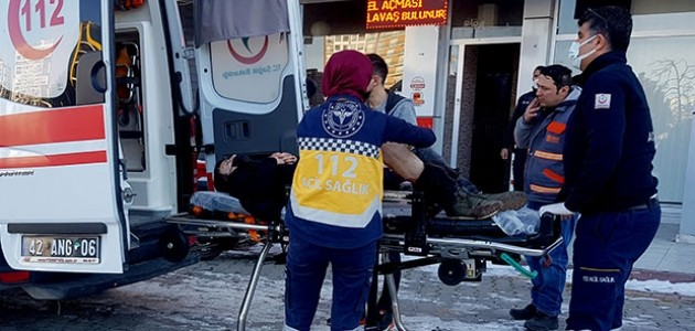 Konya'da Pompalı Tüfek Bulan Çocuk Esnafı Yaraladı