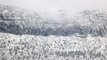 Toroslar Karla Büyüleyici Güzelliğini Taçlandırdı