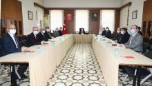 Konya'da Huzurlu Eğitim İçin Vali Özkan ve Rektörler Toplantı Yaptı
