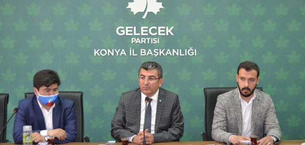 Gelecek Partisi, Doğu Türkistanlı Türkmenleri Dinledi