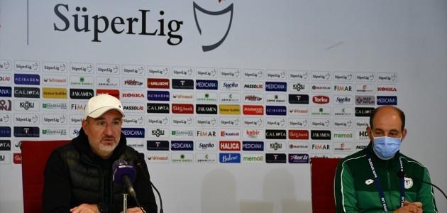Konyaspor-Sivasspor Maçının Ardından Basın Toplantısı Düzenlendi