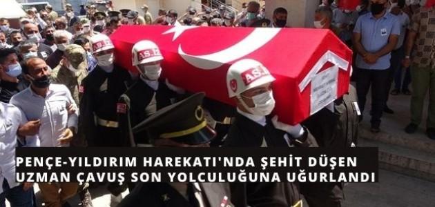 Şehidimiz Adana'da Son Yolculuğuna Uğurlandı