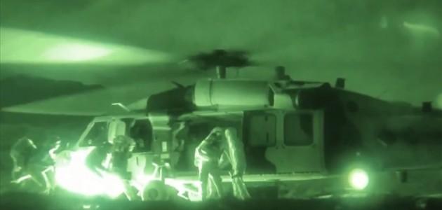 Pençe-Şimşek ve Pençe-Yıldırım Operasyonlarında Mevziler Vuruluyor