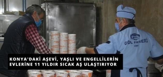 Konya'daki Aşevi, Yıllardır İhtiyaç Sahiplerine Yemek Ulaştırıyor