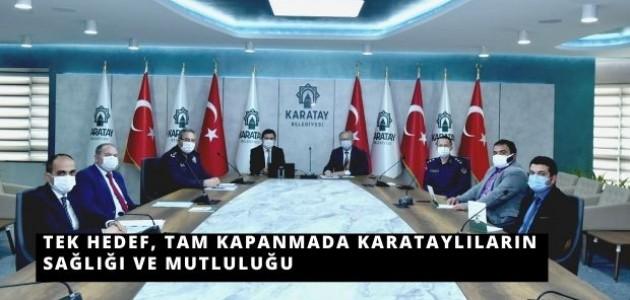 Karatay Kaymakamı Parlar Başkanlığında Toplantı Düzenlendi