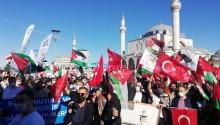 Seydişehir'de İsrail Protesto Edildi