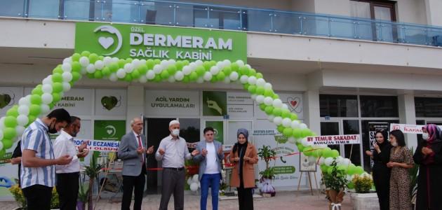Dermeram Sağlık Kabini Açıldı