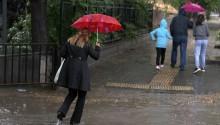 Yurt Genelinde Sağanak Yağış Etkili Oluyor