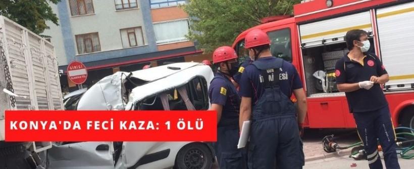 Beyşehir Çevre Yolu'nda Feci Kaza