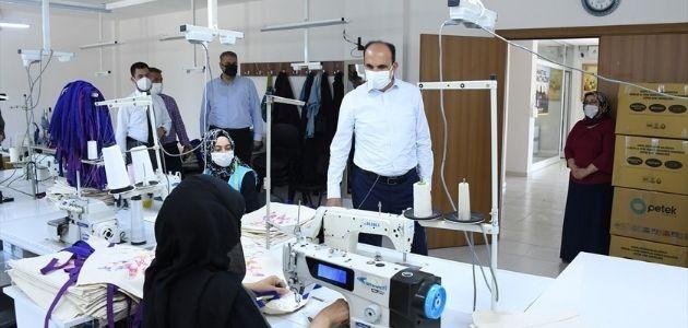 Konya Belediye Başkanı Uğur İbrahim Altay'ın KOMEK ziyareti