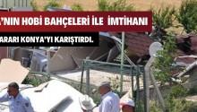 Yıkım kararı Konya'yı karıştırdı.