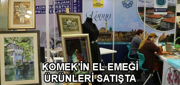 KOMEK'İN EL EMEĞİ ÜRÜNLERİ SATIŞTA