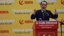 NECMETTİN ERBAKAN'I ANMA GECESİ DÜZENLENDİ.